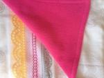 Mini Block Quilt, Wrap Fabric Baby Blanket