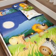Lenny Lion Safari Woven Wrap Baby Duvet Set
